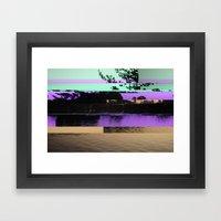 Lagoo Framed Art Print