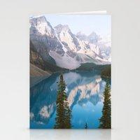 Lake Moraine Dos Stationery Cards