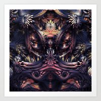 Homage To H.R. Giger Art Print