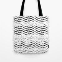 Polka dot rain Tote Bag