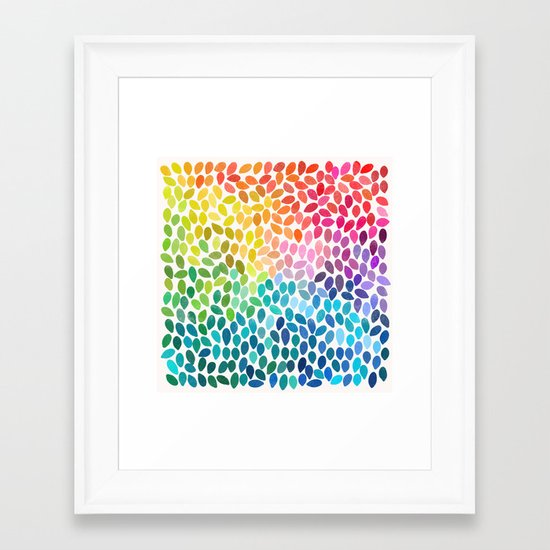 rain 11 Framed Art Print