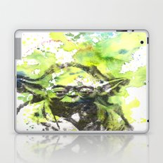 May the Force be with You Yoda Star Wars Laptop & iPad Skin