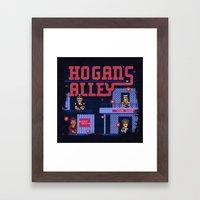Hogan's Alley Framed Art Print
