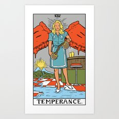 XIV-Temperance  Art Print