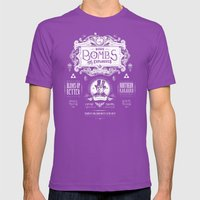 Legend Of Zelda Bomb Adv… Mens Fitted Tee Ultraviolet SMALL