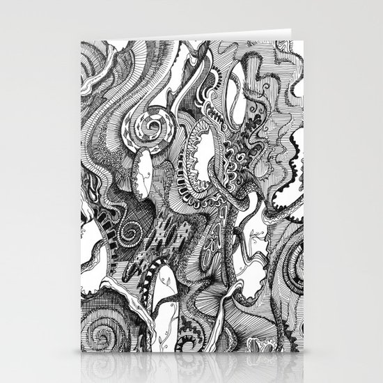 Tendrils Stationery Card