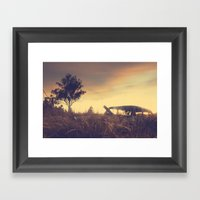 Sunsets And Forgotten Ca… Framed Art Print