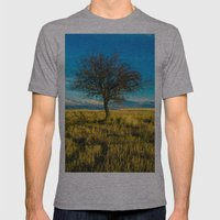 Landscape Mens Fitted Tee Athletic Grey SMALL
