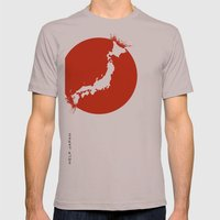 Save Japan! Mens Fitted Tee Cinder SMALL