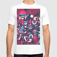 Schema 2 Mens Fitted Tee White SMALL