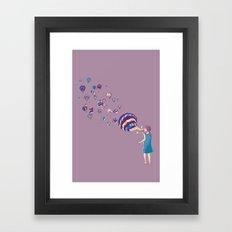 Amaze me Framed Art Print