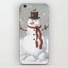 Christmas Snowman  iPhone & iPod Skin