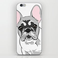 Jersey the French Bulldog iPhone & iPod Skin