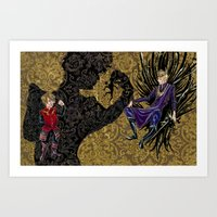 Tryion+joffrey: The Pupp… Art Print