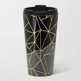 Travel Mug - Ab Half and Half Gold - Project M