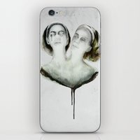 Bette And Dot Tattler iPhone & iPod Skin