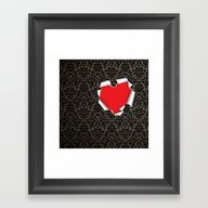 Framed Art Print featuring I'm Yours by Mentalembellisher