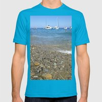 The Beach Mens Fitted Tee Teal SMALL