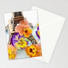 FLOWER AND PARIS Stationery Cards