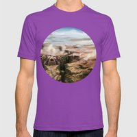 Plains Mens Fitted Tee Ultraviolet SMALL