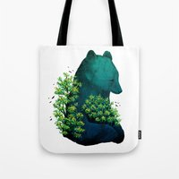 Nature's embrace Tote Bag