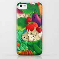 iPhone 5c Cases featuring Nice People Eat Vegetables - background (Made with Danny Ivan) by Lidija Paradinović Nagulov - Celandine