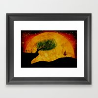 MOONSCAPE - 238 Framed Art Print