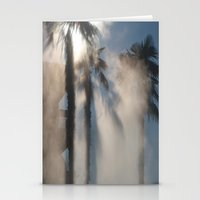 Sun And Palm Trees Stationery Cards