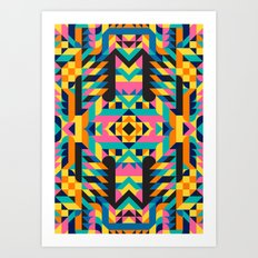 Not Another Pattern II Art Print