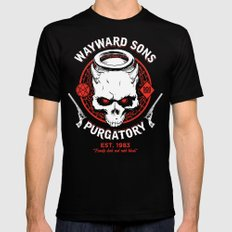 Wayward Sons Mens Fitted Tee Black SMALL