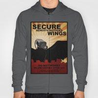 Secure beneath mother's wings Hoody