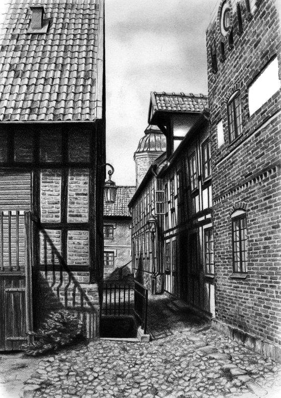 Lund Art Print