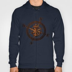 Wooden Anchor Hoody
