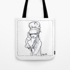 The Puppet Master Tote Bag