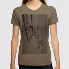 Roxie the Dalmatian 1 Womens Fitted Tee Tri-Coffee SMALL