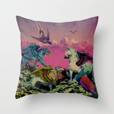 Mountain Mysticism  Throw Pillow
