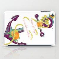 You're My Anchor iPad Case