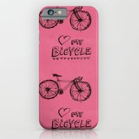 Love my Bicycle iPhone 6 Slim Case