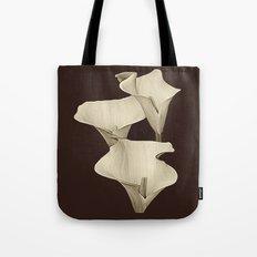 Cream Calla Lilly. Tote Bag