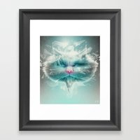 Baron Philip Von Glass Framed Art Print
