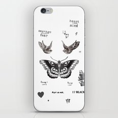 Tattoo à la Harry iPhone & iPod Skin