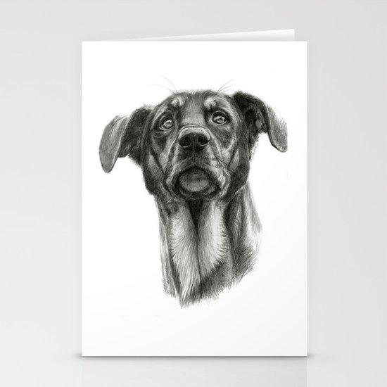 sh-Dog G2009sh-f Stationery Card