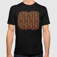 Keyes Paisley One Mens Fitted Tee Tri-Black SMALL
