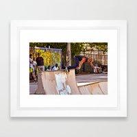 Rolling !!! Framed Art Print