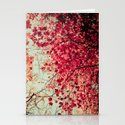 Autumn Inkblot Stationery Cards