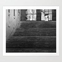 reflectless Art Print