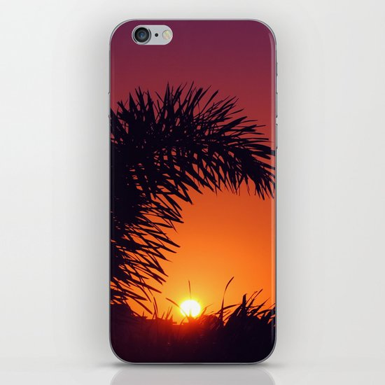 sunset in mexico iPhone & iPod Skin