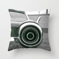 Classic T-bird taillight Throw Pillow