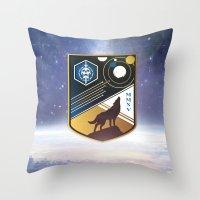 Destiny Wolfpakk Throw Pillow