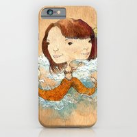 iPhone & iPod Case featuring double you waves by won tsuen